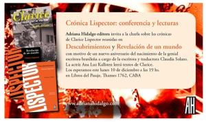 invitación-Lispectorparablog