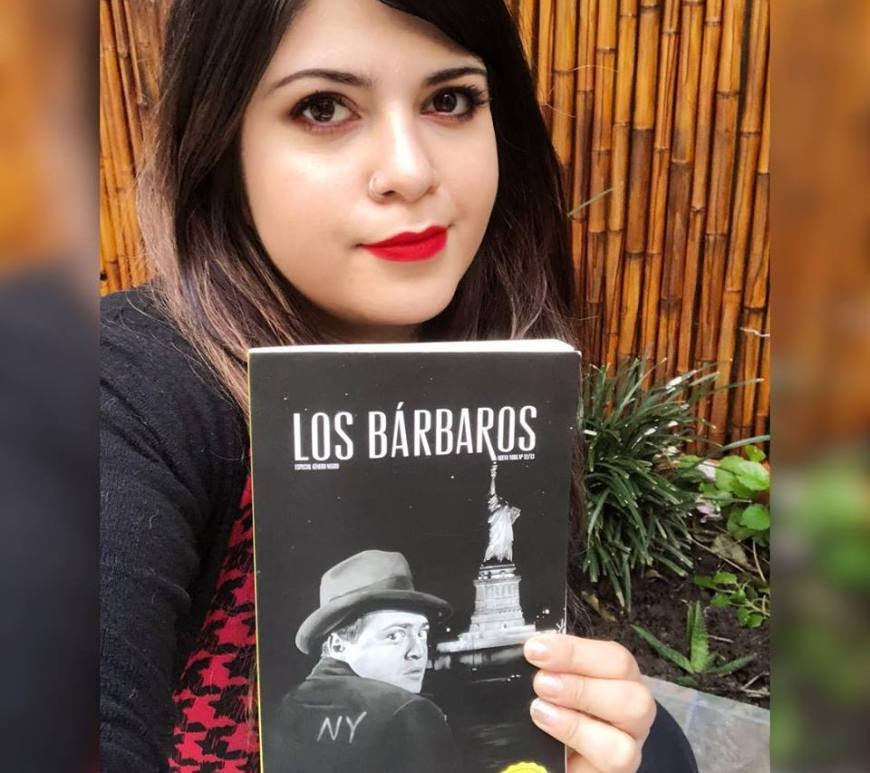 Los Bárbaros Reseña Angie Pagnotta Revista Kundra